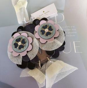 Kate Spade Zibbi Nightcap Baby Owl Keychain NWT